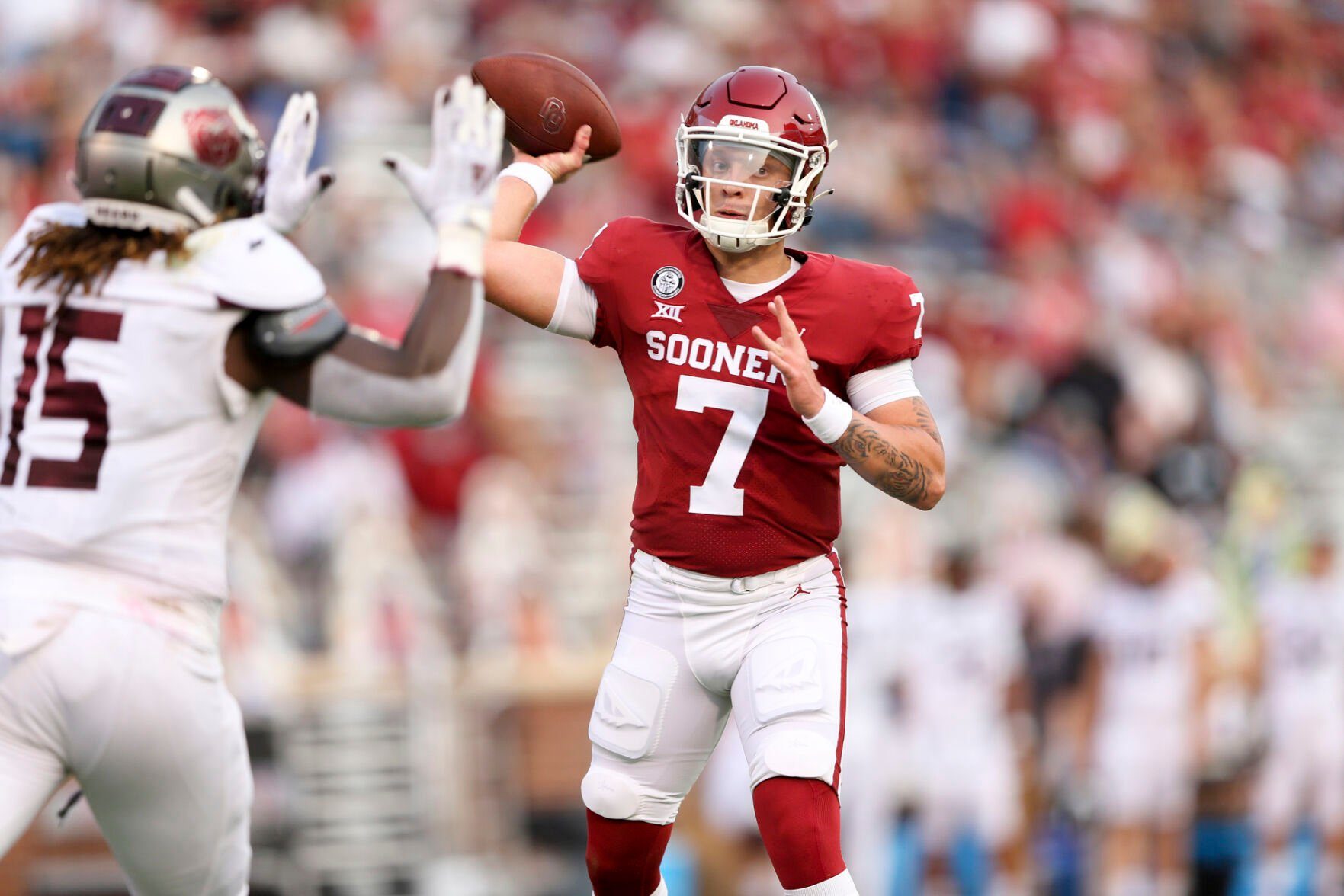 OU Football Analysis What Did We Learn From Sooners Win Over Missouri State A Little And A Lot OU Sports Extra Tulsaworld com