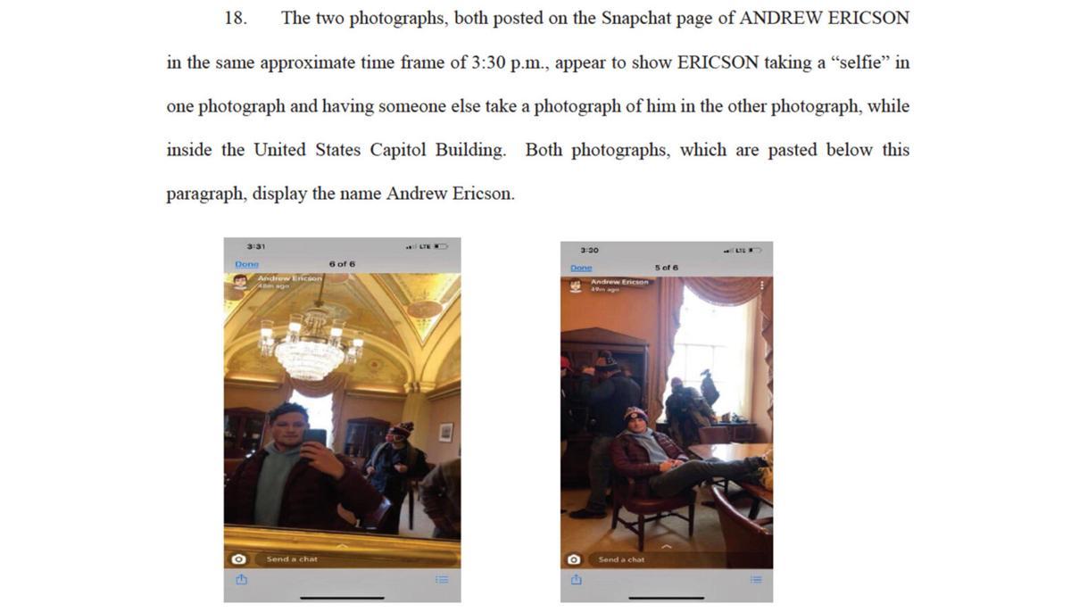 Andrew Ericson case
