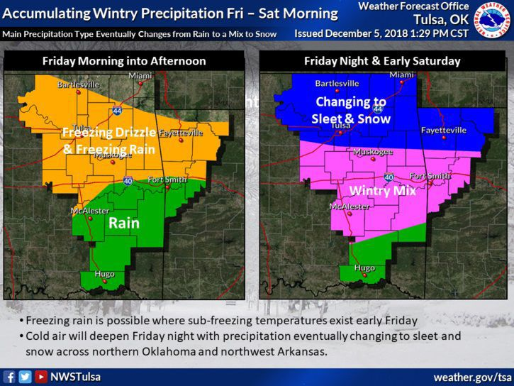 Update Fallin Declares State Of Emergency As Significant Winter