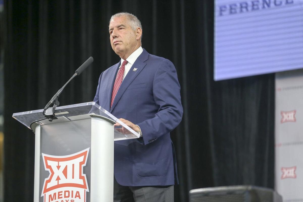 Big 12 Media Days, Bowlsby on kickoff times (copy)