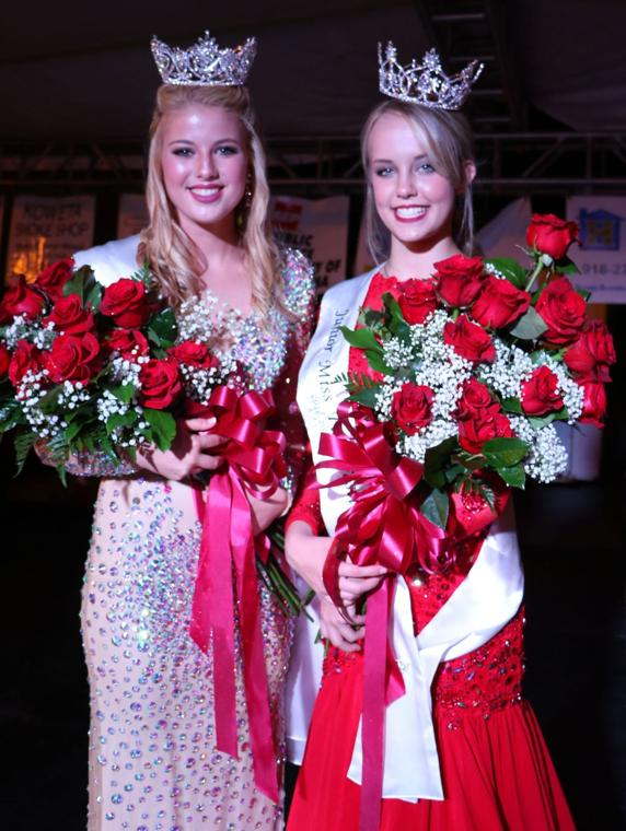 Kaylee Johnson, Olivia Kuester Win Miss And Junior Miss