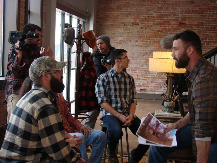 Designer promotes work hometown for possible tv show for Hgtv cast members