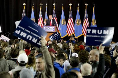 Donald Trump in Tulsa (copy)