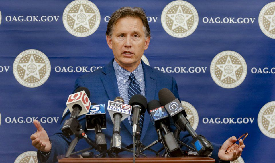 Oklahoma Attorney General Mike Hunter newsok