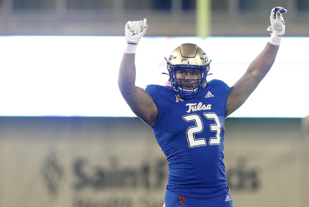 Tulsa All-America linebacker Zaven Collins picked No. 16 by Arizona in NFL  draft | TU Sports Extra | tulsaworld.com