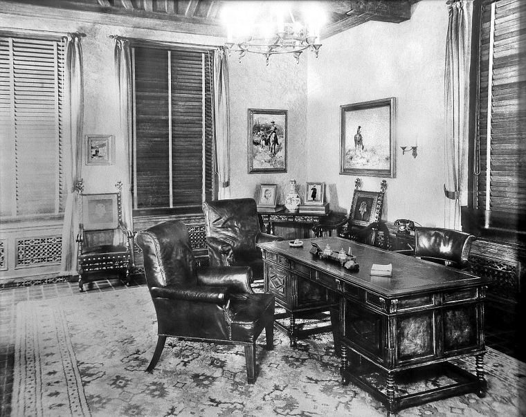 Waite Phillips' executive office restored to former glory