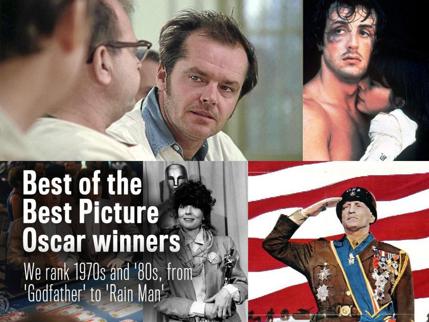 Best of the Best Picture Oscar winners: We rank 1970s and '80s, from
