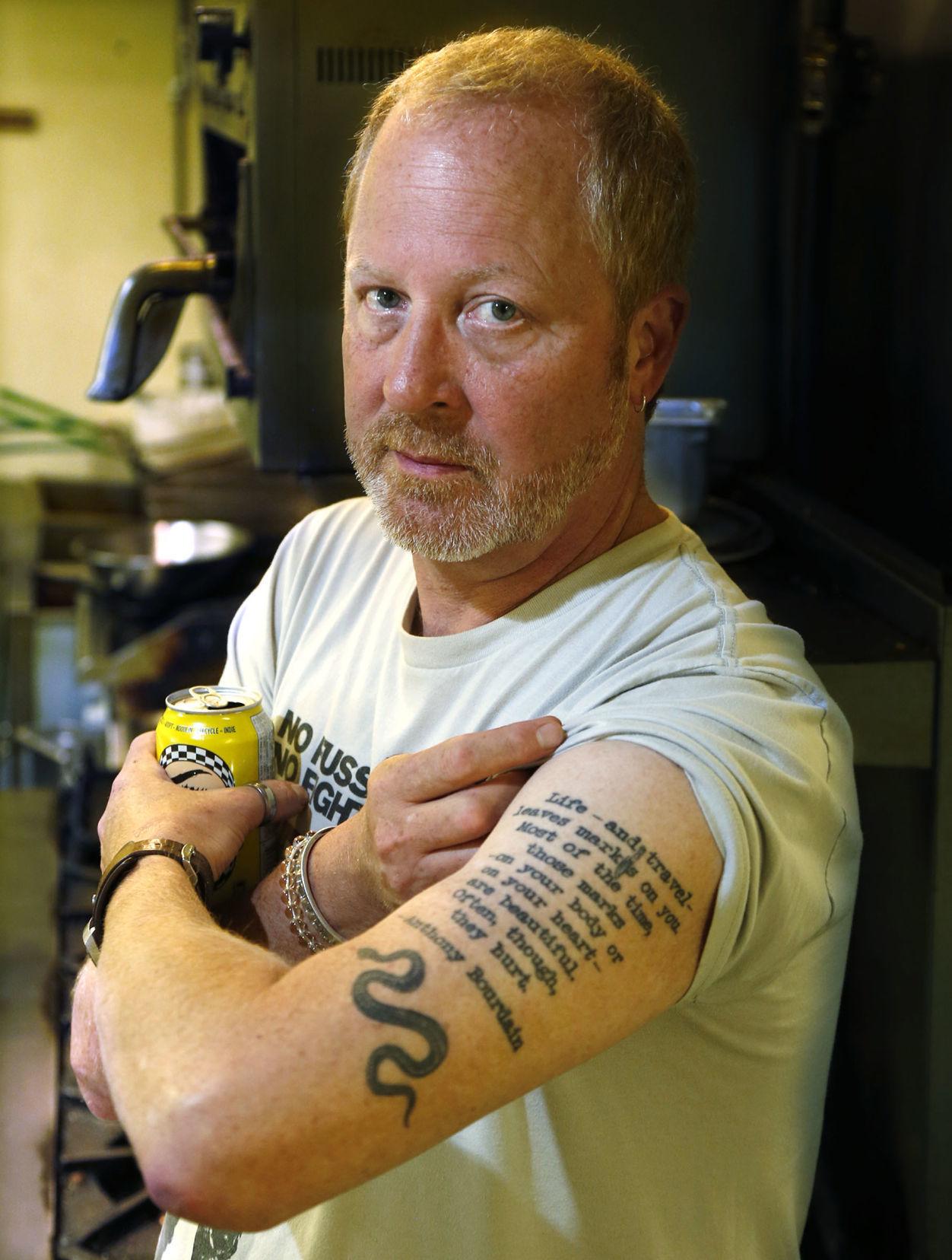 Top Local Chefs Share The Stories Behind Their Tattoos Tulsa World Magazine Tulsaworld Com