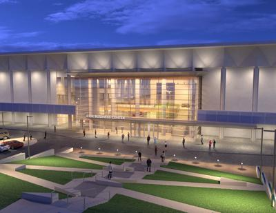 Cox Business Center rendering