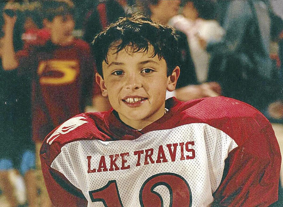 Baker Mayfield playing Pop Warner