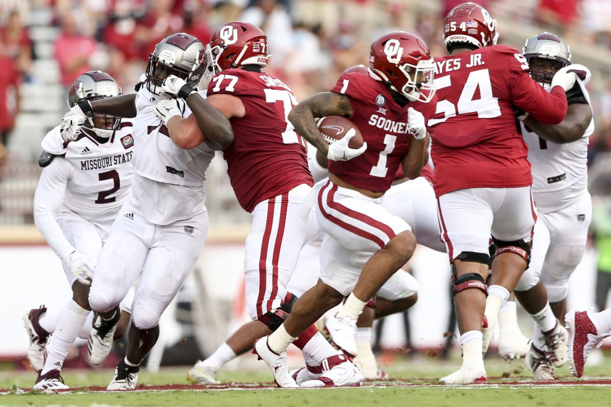 Missouri State at OU: Spencer Sanders stars as Sooners ...