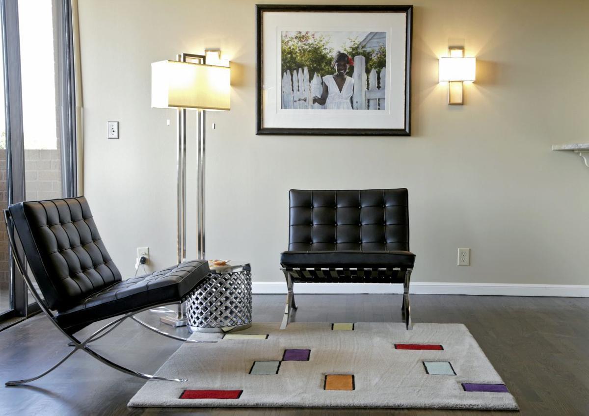 deco: minimalist elegance guides redesign of yorktown condo   t