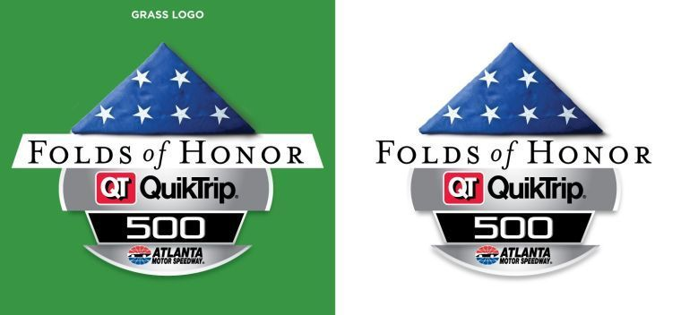 folds of honor quiktrip 500: new name for nascar race in atlanta