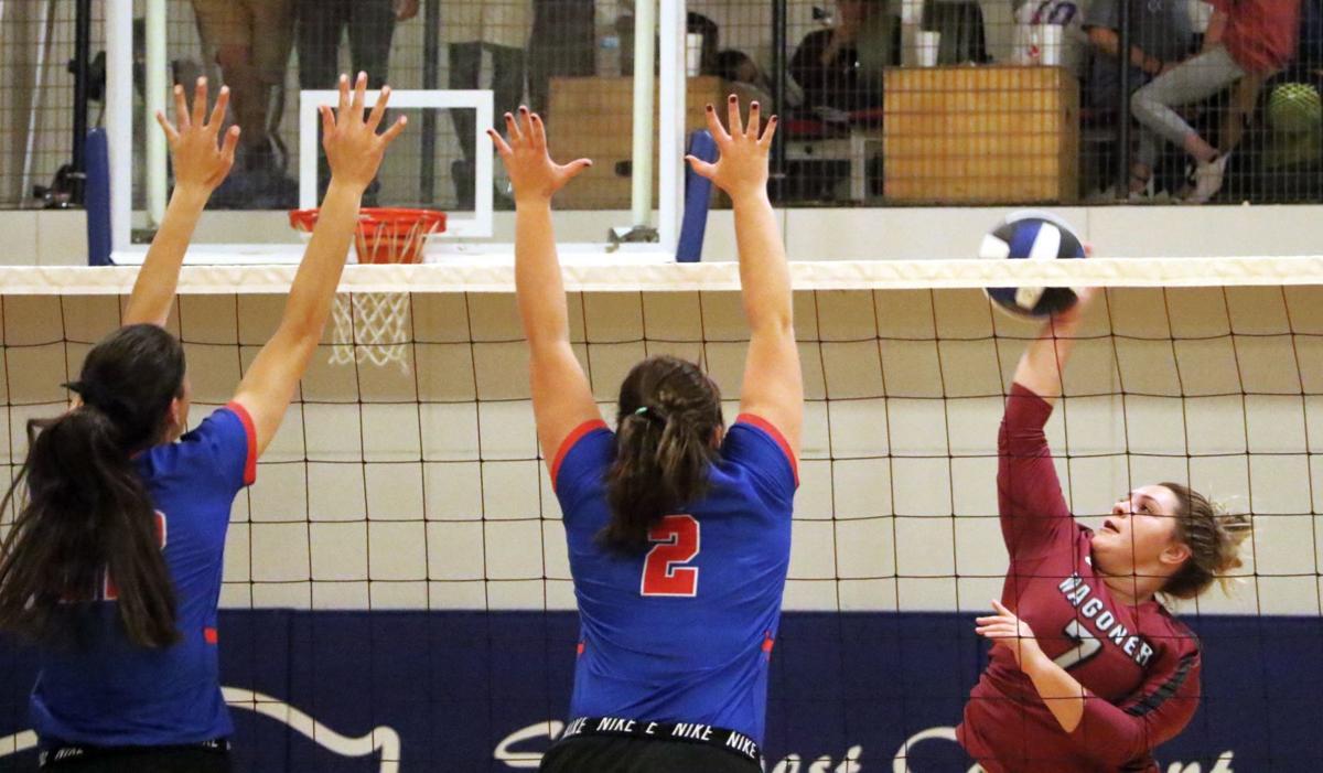Wagoner Volleyball Regional Finals