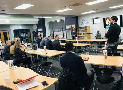 Tulsa Public Schools officials meet with lawmakers ahead of legislative session.