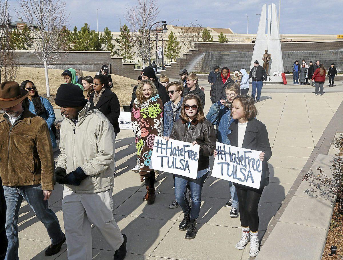 Tulsa youths bring community together to spread togetherness, halt