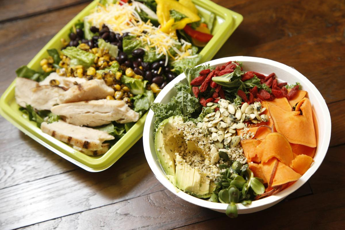 Cafe Yum hippie bowl, fiesta salad 2