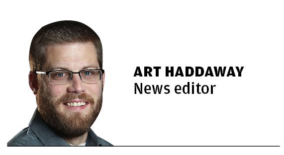 art haddaway mug