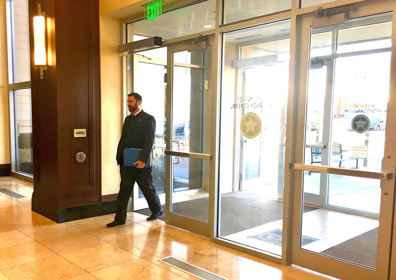 Special Prosecutor Matt Ballard Arrives At The Building Where The Stateu0027s  Multicounty Grand Jury Meets In Oklahoma City On Jan. 17, 2018.