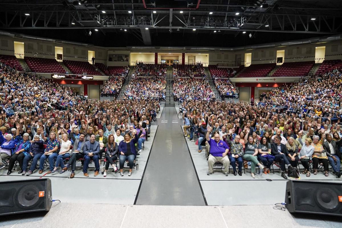 Rachel Maddow crowd