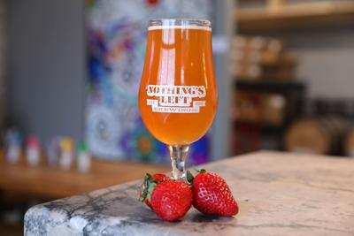 What the Ale: Beer of the Week: Nothing's Left Brewing's Soured Strawberry Blonde
