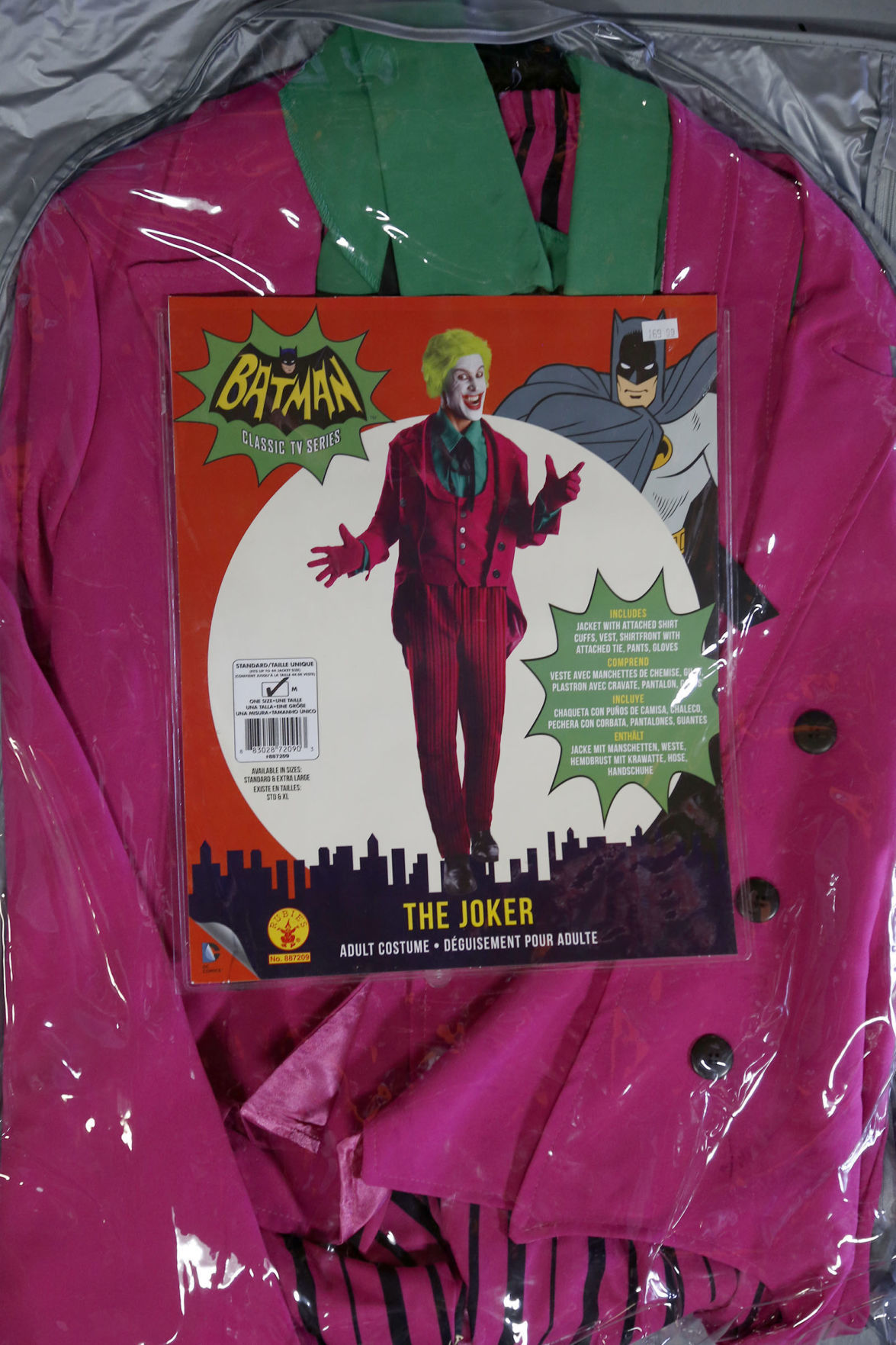 S Women/'s Mad Joker Chaqueta con chaleco y camisa, pantalones, guantes