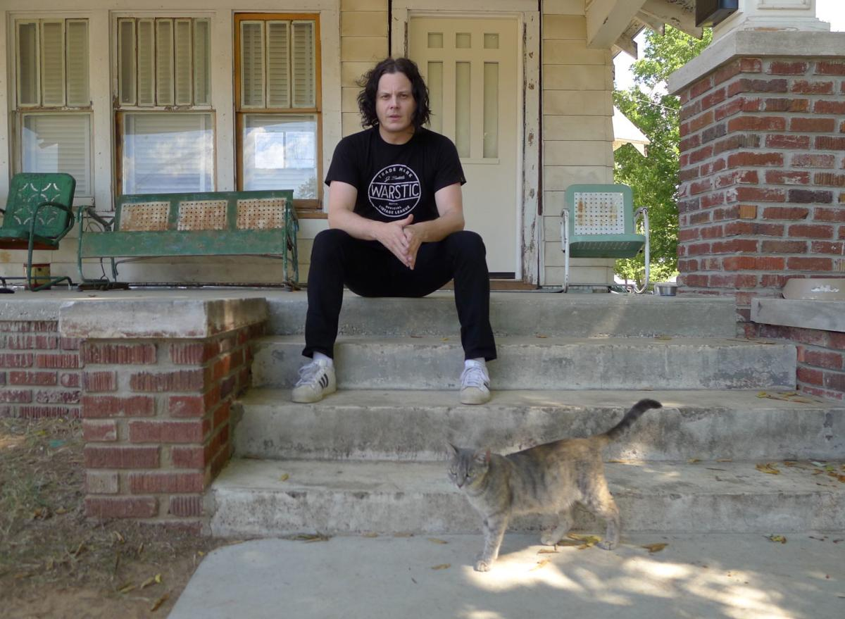 Jack White at Outsiders House