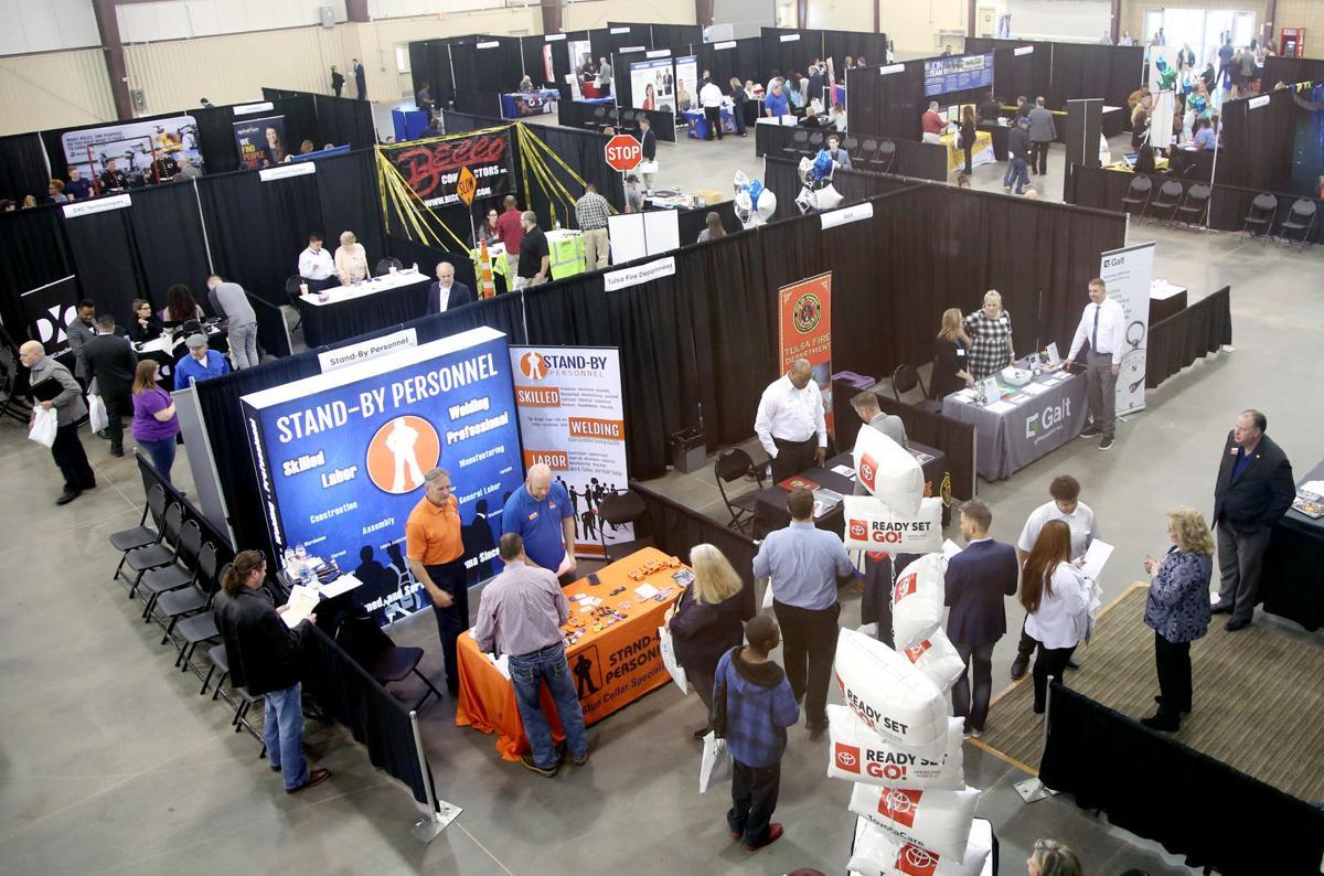 Tulsa World Job Fair (copy)