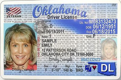 missouri drivers license used for flying