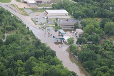 Skiatook Flooding Aerial