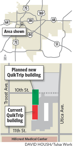Planners give green light to QuikTrip expansion at 11th
