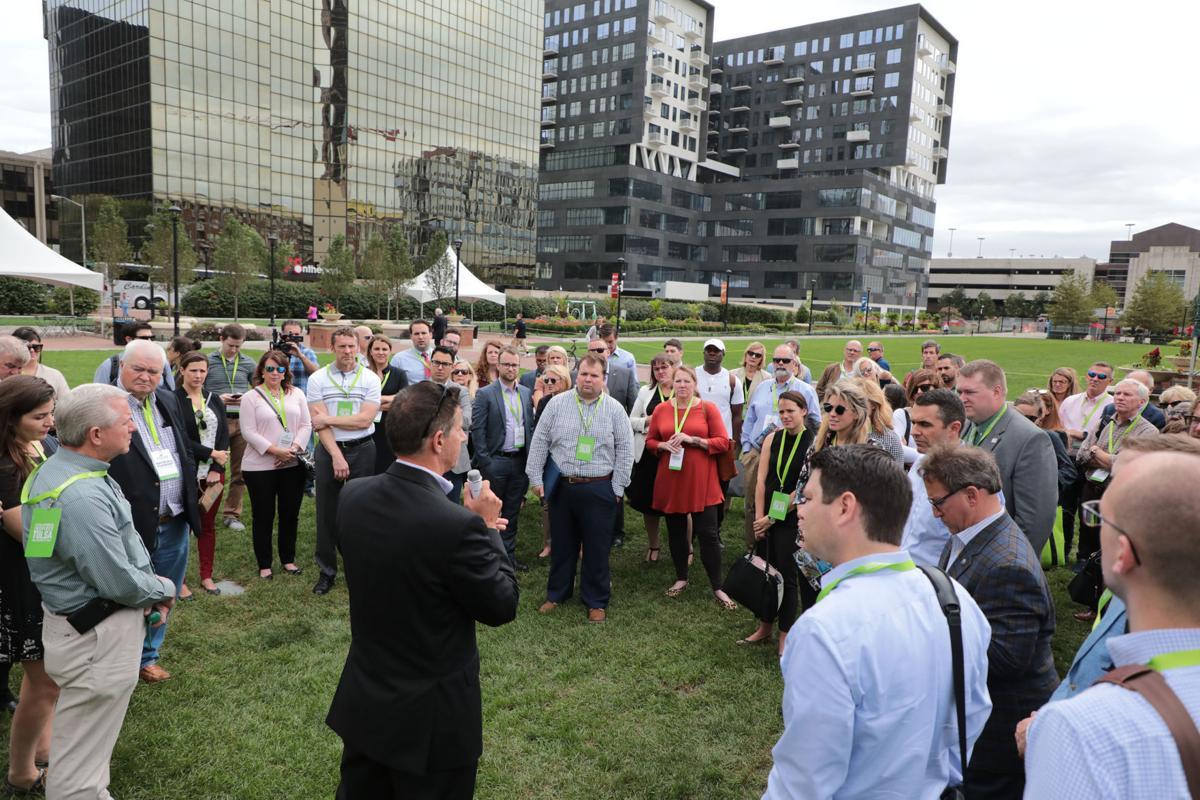 Photo gallery: Tulsa Mayor G T  Bynum, others tour Columbus