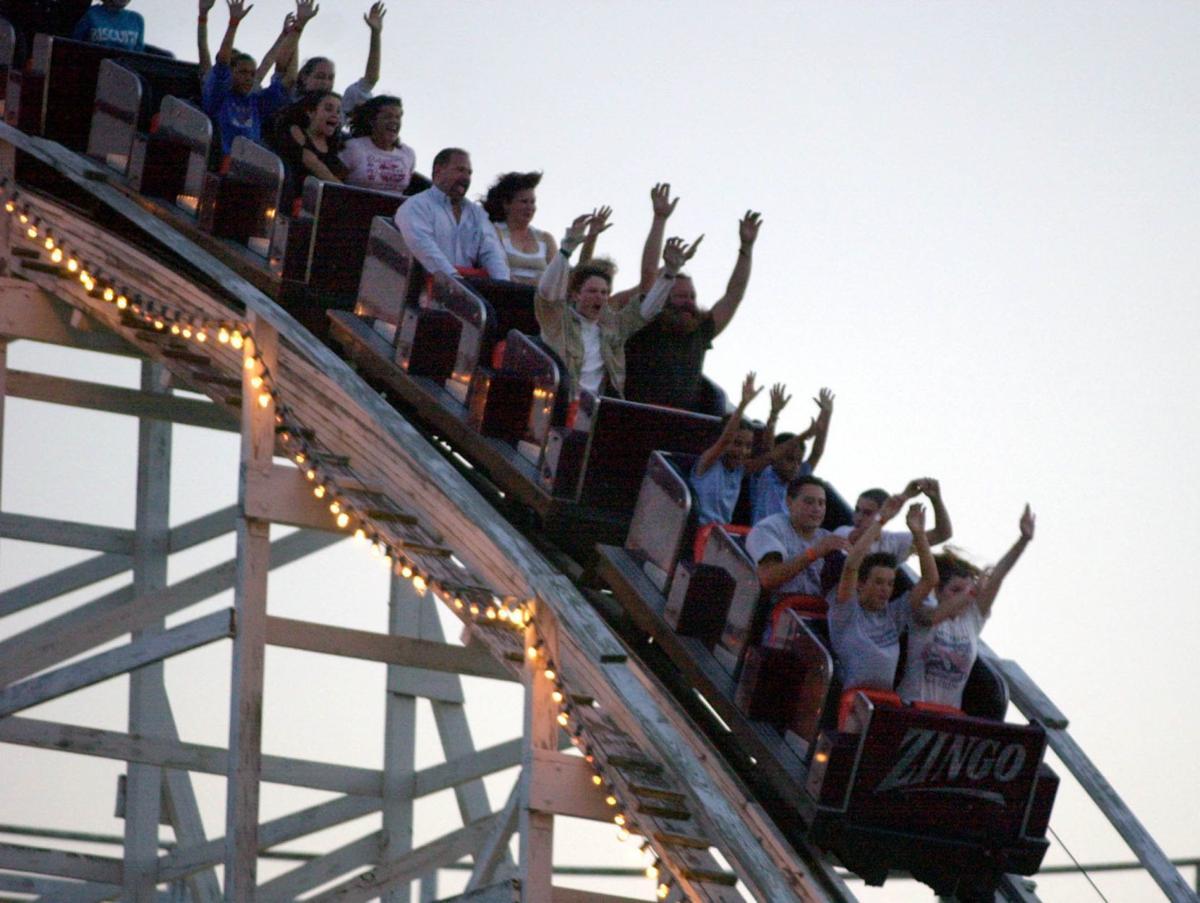 Remembering the Zingo roller coaster