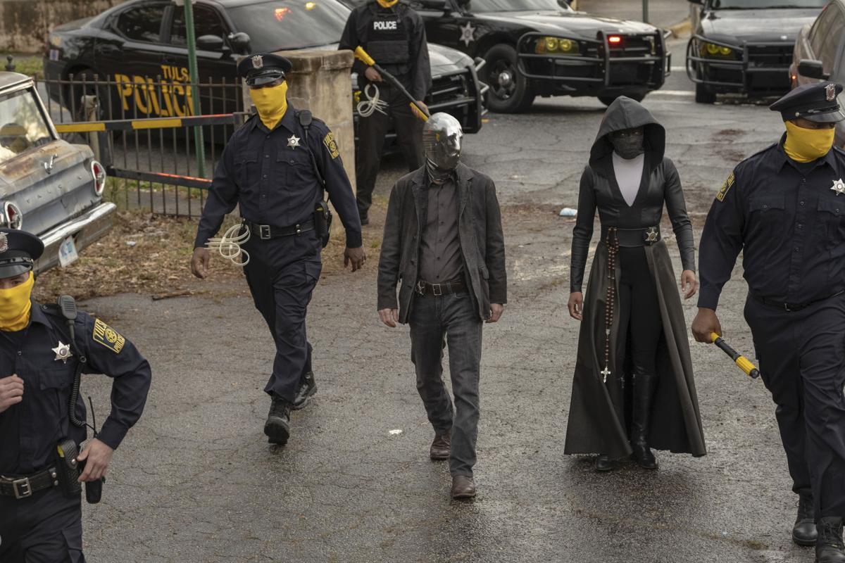 Tim Blake Nelson and Regina King/Watchmen