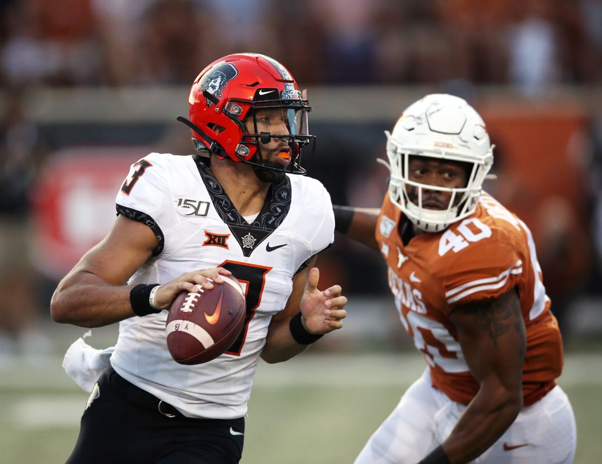 OSU football: Offense more dangerous with Spencer Sanders ...