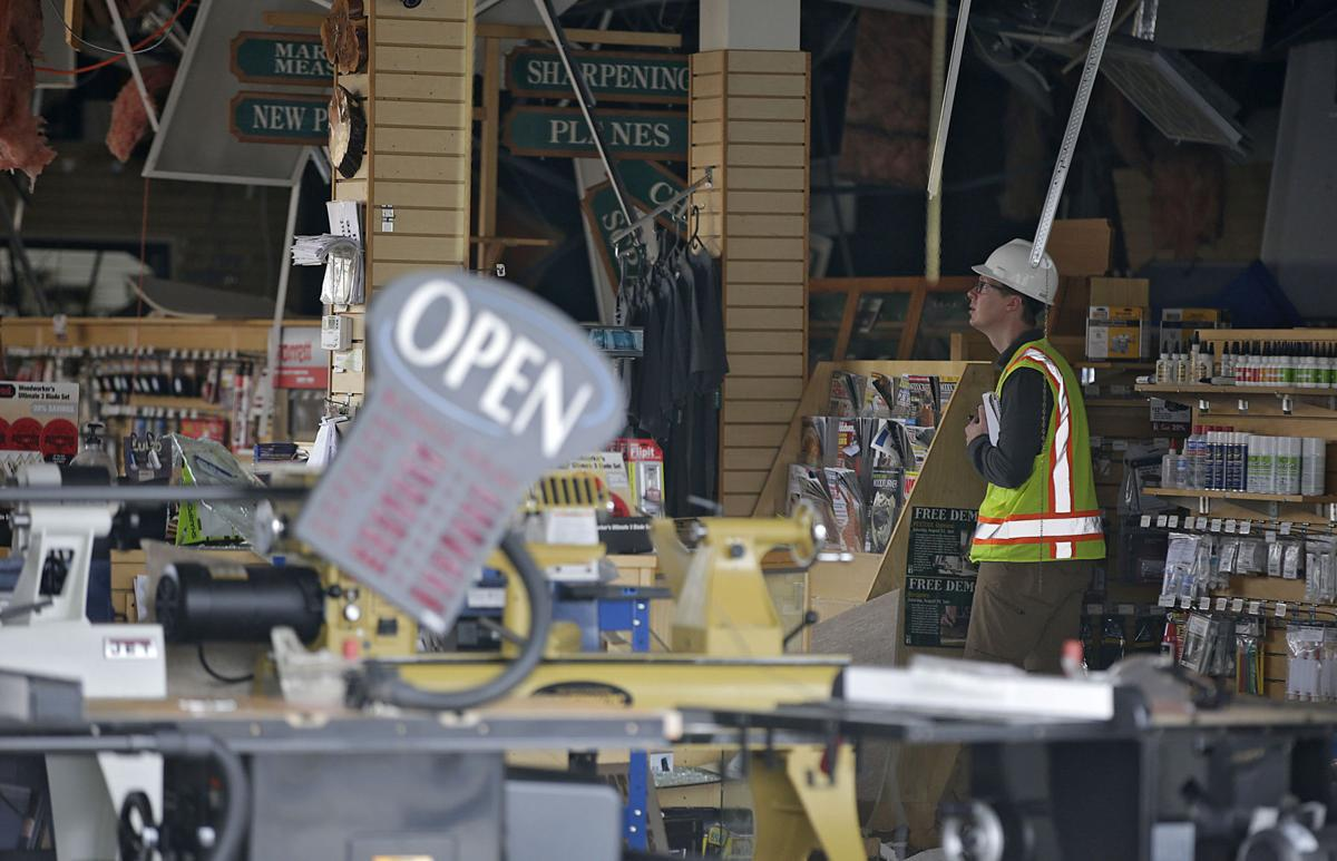 10 businesses condemned, 129 damaged as owners assess what
