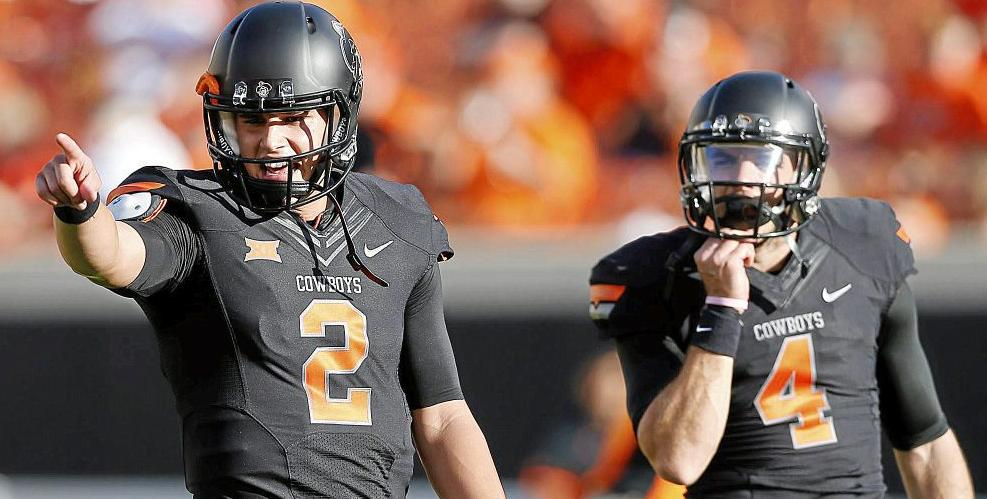 Mason Rudolph gave up his redshirt late in the 2014 season