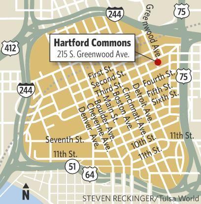 Hartford Commons map