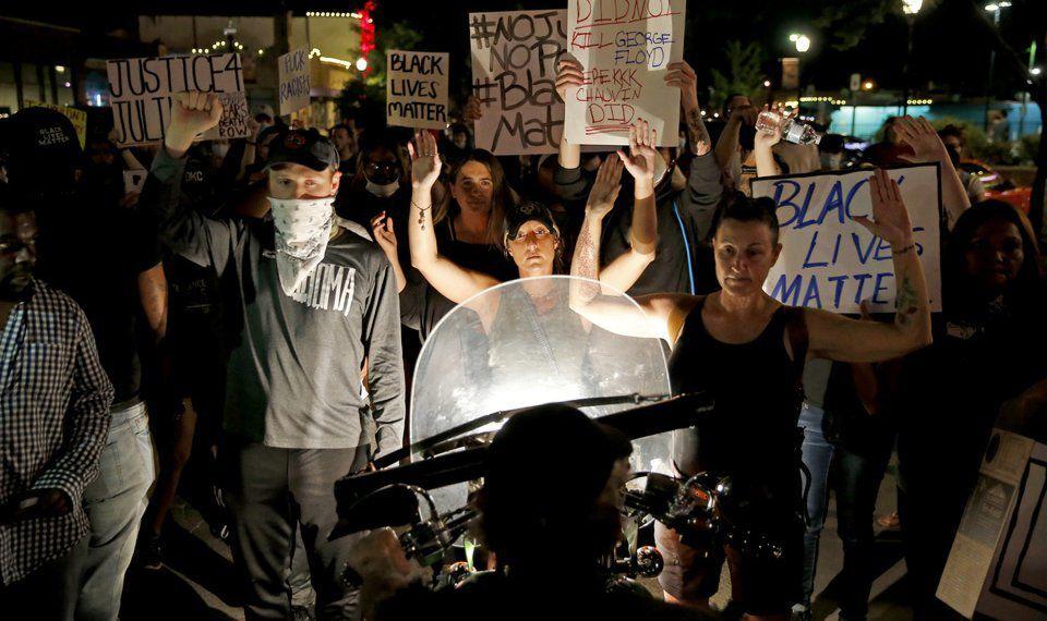 OKC protest