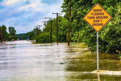 Flooding in Skiatook
