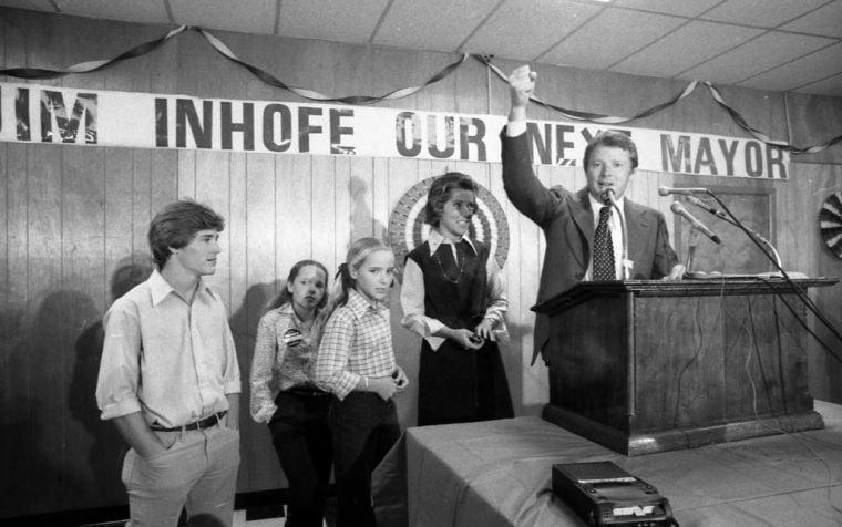 Jim Inhofe elected mayor