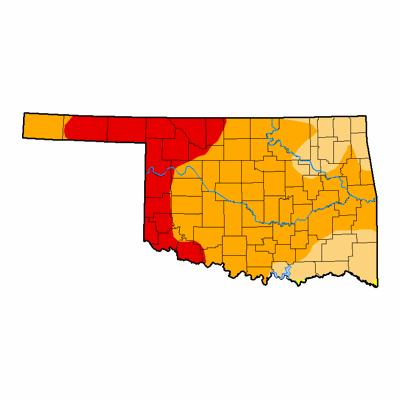Oklahoma Drought Map Weather World: Oklahoma drought worsens in January | Weatherworld  Oklahoma Drought Map
