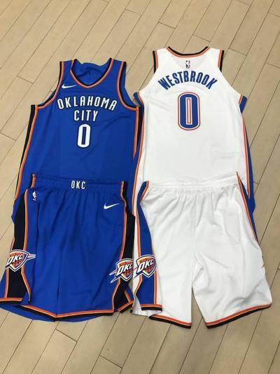 Oklahoma City Thunder s first Nike uniforms are here... and they re ... 69a8c0655