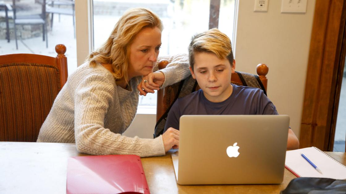 'Avoiding relationship strain.' How couples can deal with working, parenting from home