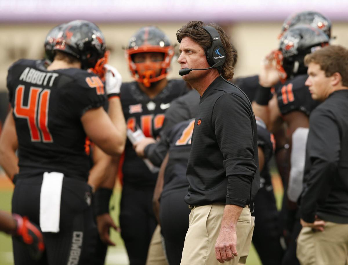 OSU football: It's Bedlam week, but Mike Gundy is focused on fixing