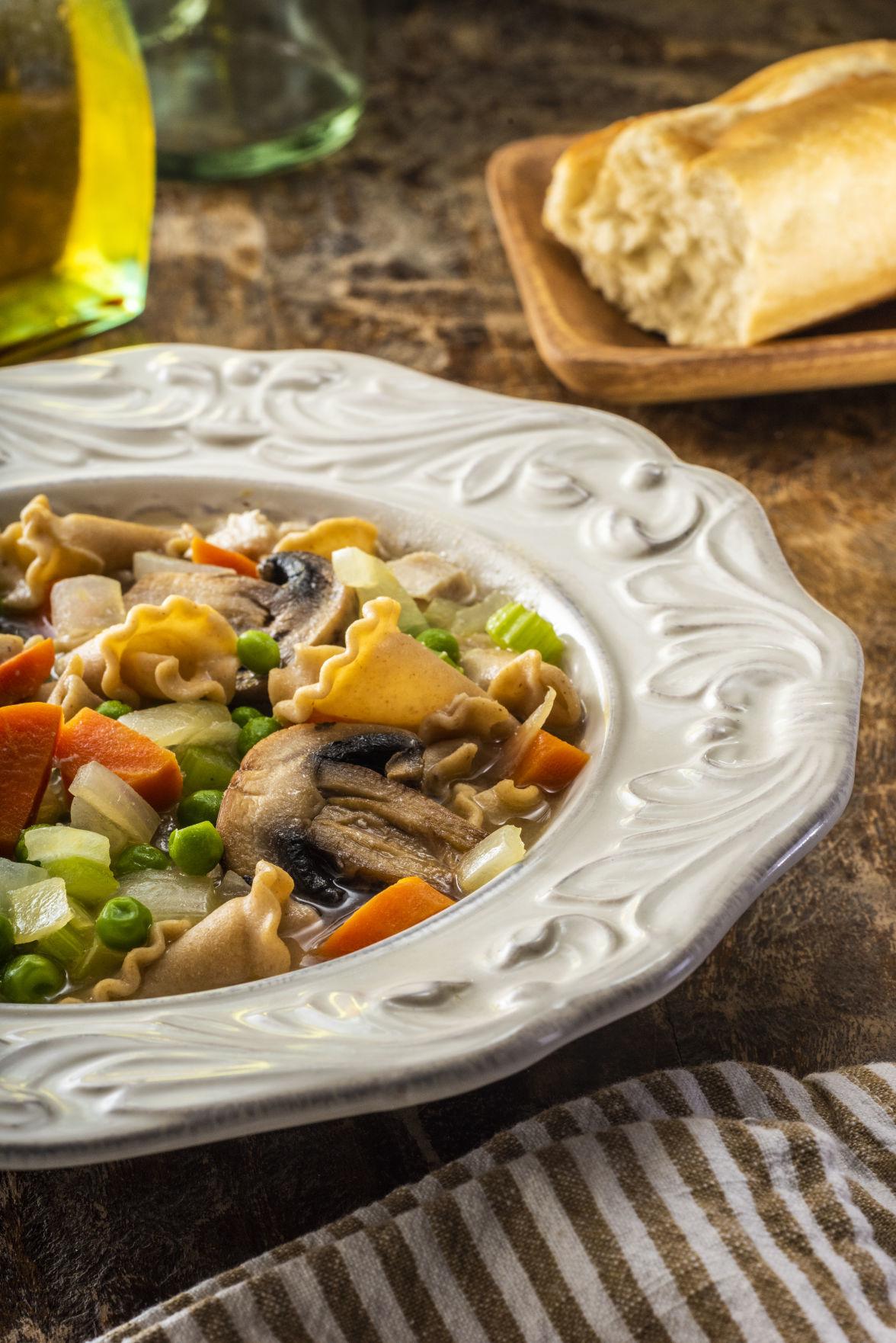 Turkey Ttrazzini Soup