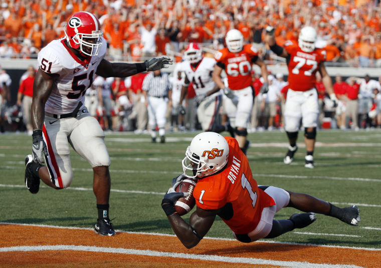Dez Bryant S Diving Catch Against Georgia Among Big 12 S