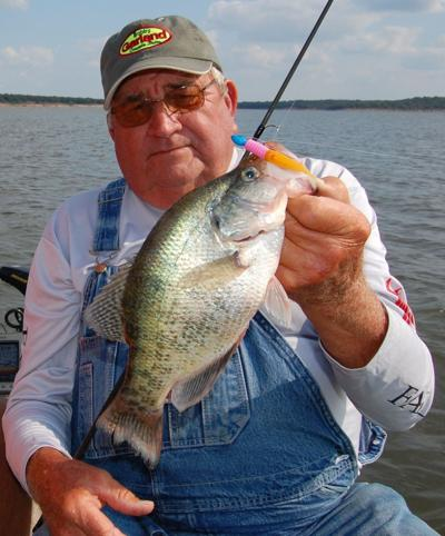 Voice of 50 year's experience shares tips at Crappie