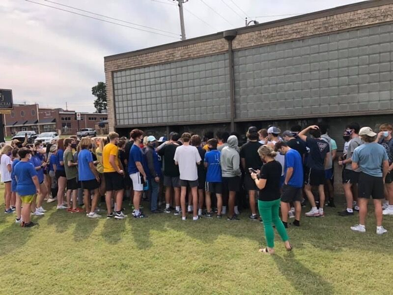Stillwater parents and football players protest cancellation of game