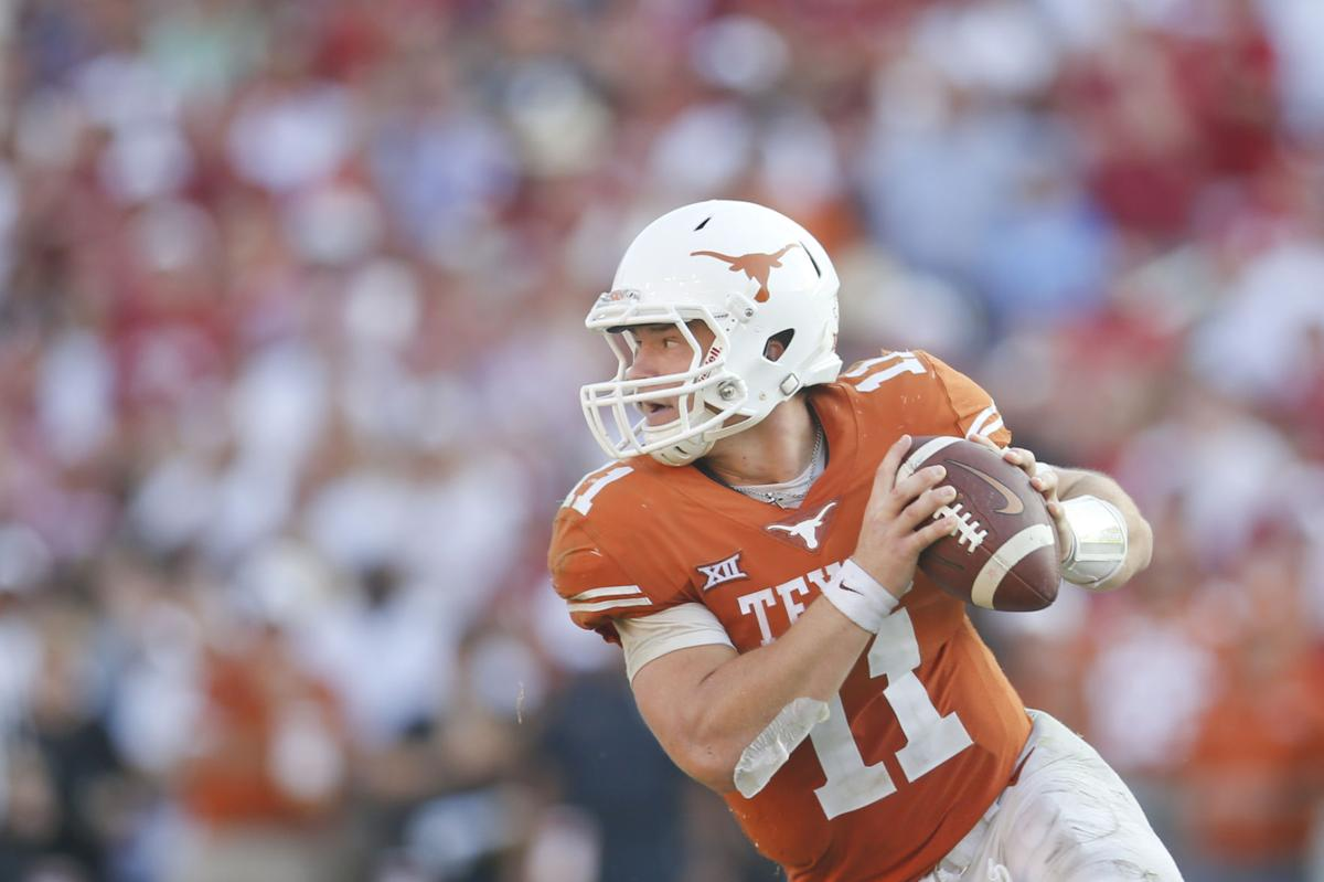 No 10 Oklahoma State At Texas Quarterback Sam Ehlinger Is Among Longhorns To Watch Saturday